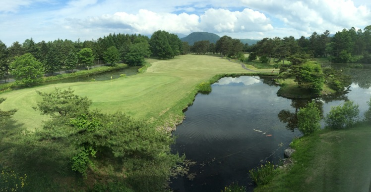 Our view from The Prince Hotel in Karuizawa