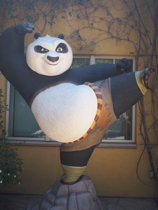 hey there, Po!- DreamWorks Animation Studio, California