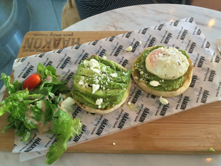 smashed avocado & feta on toast ($14.90)