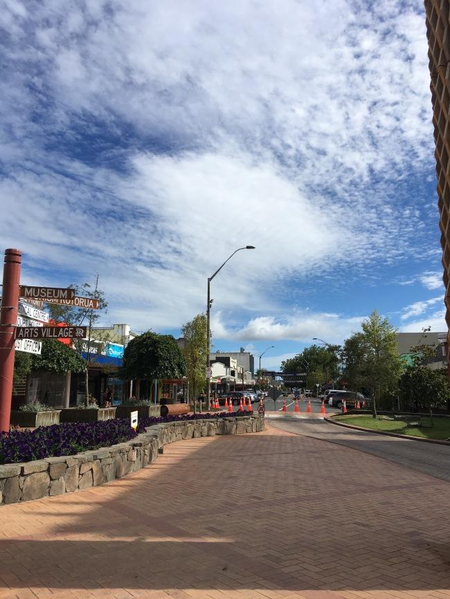 Downtown Rotorua- 10am