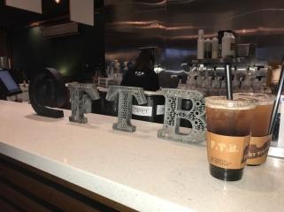 Yummy passion black tea with peals (I'm still an SG girl at heart)// Factory Tea Bar, San Gabriel, California