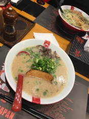 Tonkotsu Ramen from the award winning Ramen chain// Ramen Nagi, Suntec City, Singapore