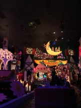 Christmas-themed It's a Small World.