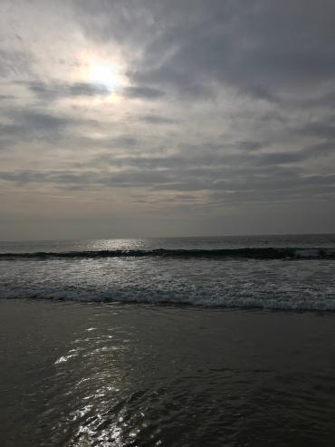 New Year's sunset, here's to a fabulous 2018// Manhattan Beach, California