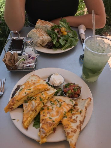 Second times a charm, breakfast quesadilla and a mint julep from Jane on York.
