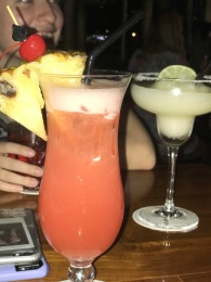 Singapore Sling and Margarita