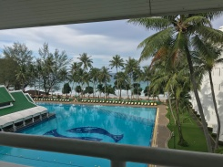 beautiful morning view from our room at Le Meridien Phuket