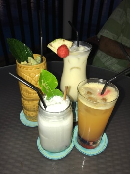 another round of tropical happy hour... YES PLEASE