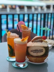 tropical drinks for happy hour