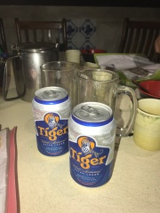 A few cold Tigers at the end of a work week//Swee Kee Noodle House