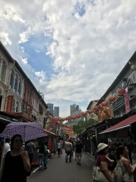 Playing tourist while showing my friends some of my favorite places in Singapore//Chinatown