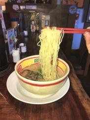 Noodle porn just got real. Kyushu tonkotsu ramen for lunch from Jangara in Harajuku.