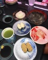 Super yummy dinner of fresh sushi from the extremely reasonable Kito Kito Sushi in Arai