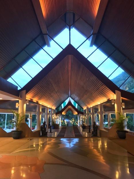 The stunning entrance to the Meridien Hotel in Phuket// Phuket, Thailand