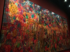 Colorful abstract art at the museum// National Gallery, Singapore