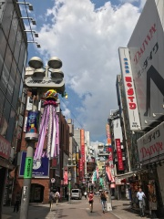 Busy streets of Shibuya