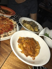 Pastas and pizza from 2it & drink