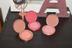 12-hour Amazonian Clay blushes (the middle one is my favorite)
