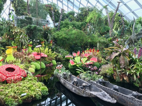 Never seen an indoor garden pulled off so perfectly // Gardens by the Bay
