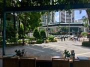 Nothing I want more than a leisurely Sunday morning brunch with this view // Prive, Orchard Road