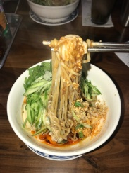 Mid-week pick me up with authentic Dan-Dan noodles//Joy on York, Eagle Rock
