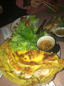 Prawn pancake and other delicious side dishes for my SEA fix // Nha Viet Nam, Ebisu