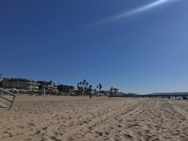 My perfect contrast // Manhattan Beach, California