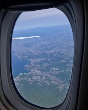 We LOVE airplane views like these // Somewhere over the country of Japan