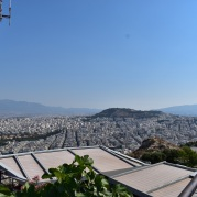 Panoramic view from the top of Lykavittos.