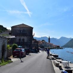 Streets of Perast.