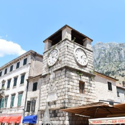 Walled in city-center of Kotor.