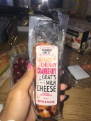 Trader Joe's apricot, cherry and cranberry goat's cheese