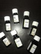 A bunch of new Aura Cacia essential oils.